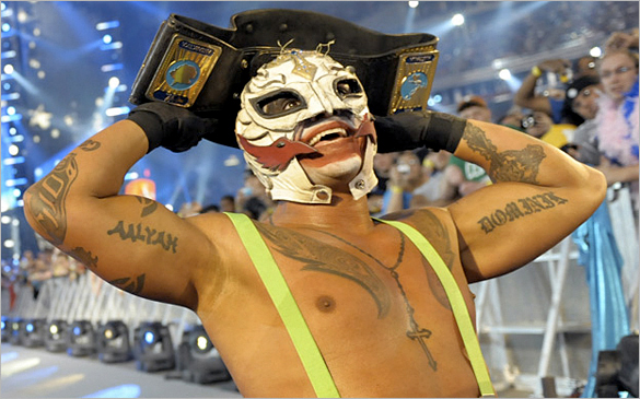 rey mysterio as the joker